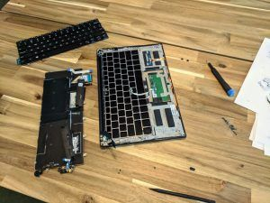 Replacing Keyboard
