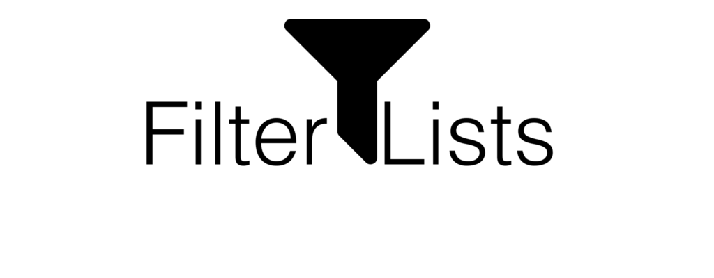 FilterLists: Directory for Blocking Ads and Trackers