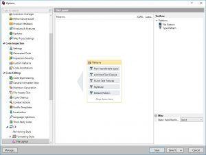 StyleCop ReSharper File Layout TypePattern